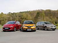 Comparatif vidéo - Le Renault Scénic 4 face à ses adversaires