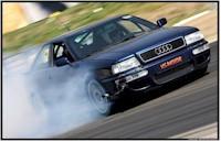 Une Audi qui a le diable au corps...