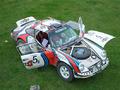 Une Porsche 911 sur l'Africa Race 2012