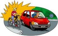Etude en Belgique : un automobiliste est plus touché par la pollution qu'un cycliste