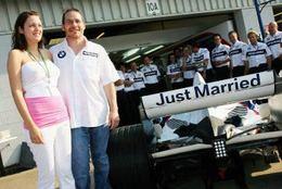 Jacques Villeneuve: pas d'écurie pour l'année prochaine mais une épouse pour la vie