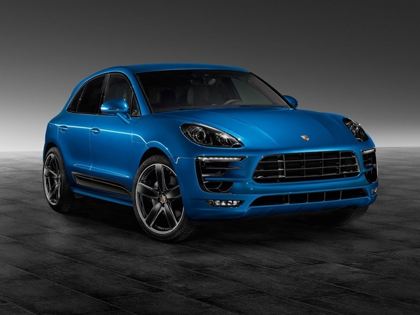 Le pack Sport Design disponible pour le Porsche Macan