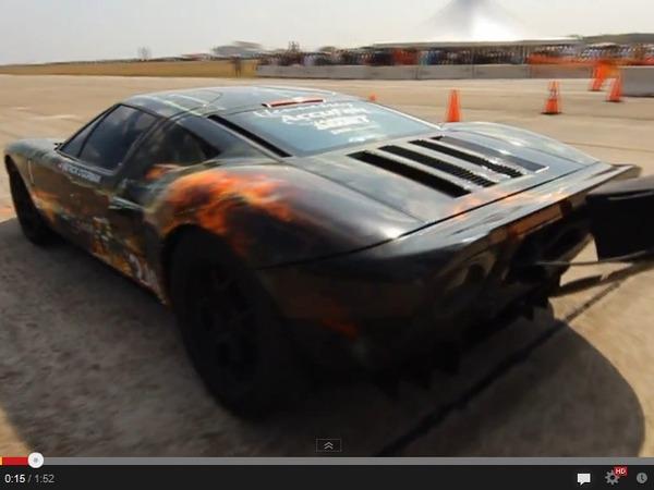 Texas Mile : la Ford GT Hennessey bat son propre record, à 430,7 km/h