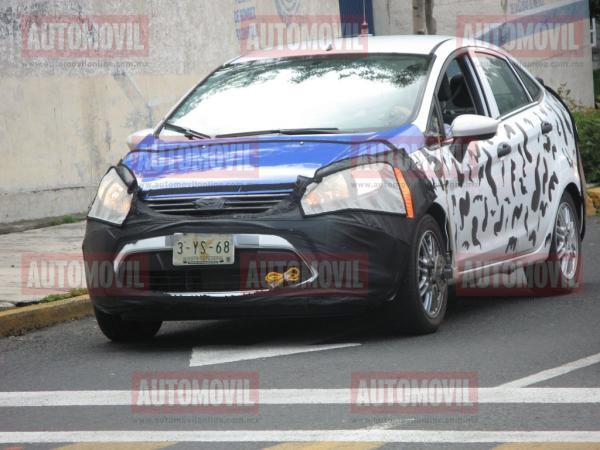 Spyshot : Ford Fiesta électrique