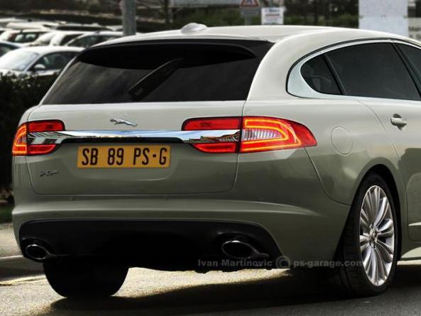 Future Jaguar XF Sportbrake: comme ça?