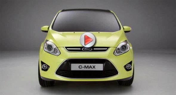 [Vidéo] Le nouveau Ford C-Max en détail