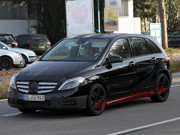 Future Mercedes Classe B AMG: plus de 320 ch