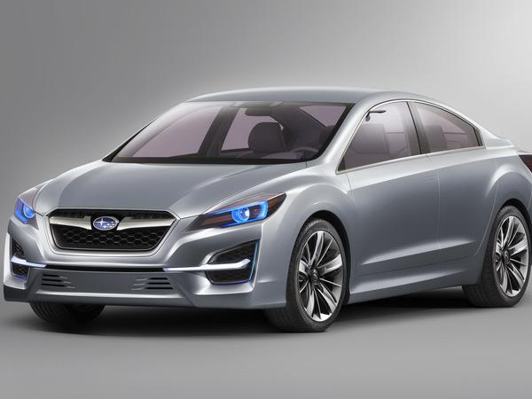 Los Angeles 2010 : Subaru Impreza Design Concept, pour annoncer la prochaine