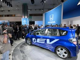 Salon de Los Angeles 2010 :  la Honda Fit électrique sortira en 2012