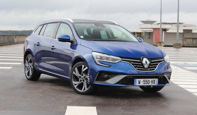 Renault Mégane Estate restylée (2020) : voilà l'hybride rechargeable