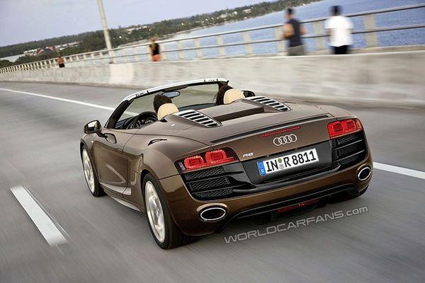 Salon de Francfort : la nouvelle Audi R8 Spider avant l'heure