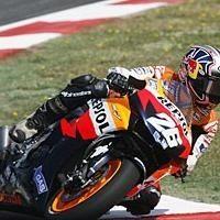 Moto GP: Catalogne: Podium: 3 Pedrosa.