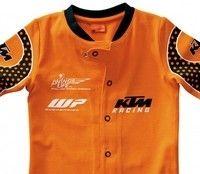 Look pro pour les bébés avec la Baby Body Teamrider made in KTM…