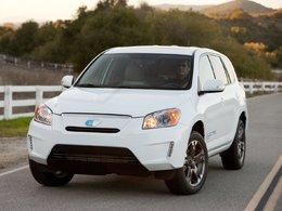 Salon de Los Angeles 2010 : le nouveau Toyota RAV4 électrique sera lancé en 2012