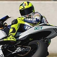 Moto GP: Catalogne: Podium: 2 Rossi.