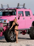 Hummer H2 Pick-Up Pink Edition by VIP Customz : affreux !