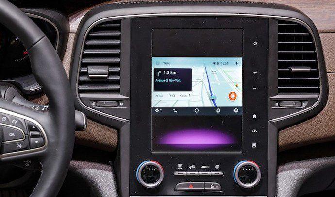 waze arrive enfin sur android auto. Black Bedroom Furniture Sets. Home Design Ideas