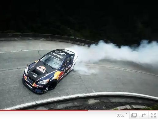 Rhys Millen va au Brésil pour drifter avec sa Hyundai Genesis de 750ch