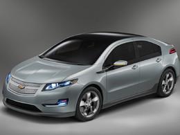 Salon de Los Angeles 2010 : la Chevrolet Volt élue voiture verte de l'année