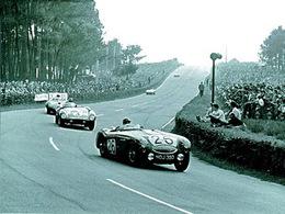 L'Austin Healey des 24 Heures du Mans 1955 vendue 982 000 euros