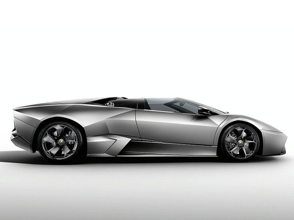 Francfort 2009 : la Lamborghini Reventon Roadster s'avance
