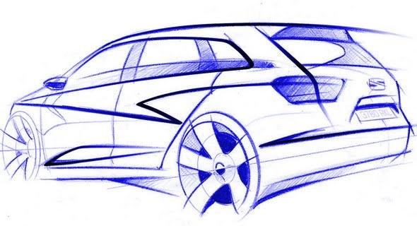 Seat Ibiza Sport Tourer : elle sera à Francfort, mais en concept