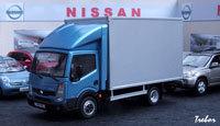 Miniature : 1/43ème - NISSAN Cabstar