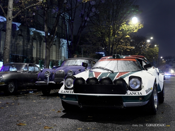 Photos du jour : Lancia Stratos (Vente Artcurial)
