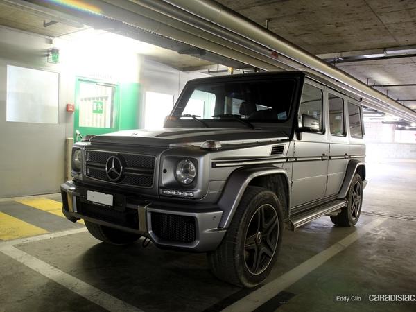 Photos du jour : Mercedes Classe G 65 AMG