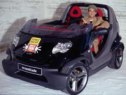Plus de 24 000 euros pour la Smart Crossblade de Robbie Williams