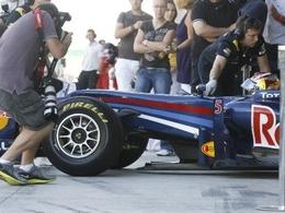 Vettel le plus rapide en pneus Pirelli