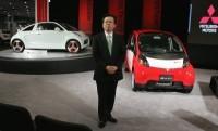 Salon de New York 2008 : Mitsubishi i MiEV électrique