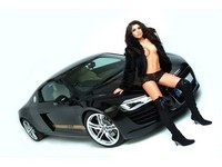 Audi R8 Vibe Audio : Sexy Rachael !!
