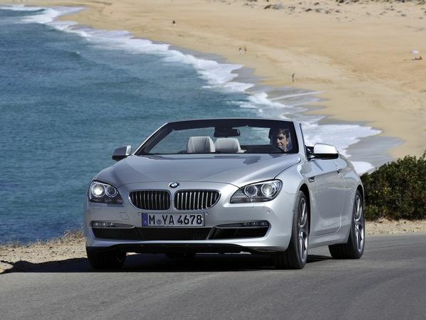 Le plein de photos et de vidéo pour la nouvelle BMW Serie 6 Cabriolet