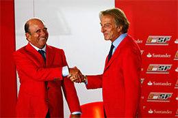 Confirmation : Santander signe pour 5 ans avec Ferrari