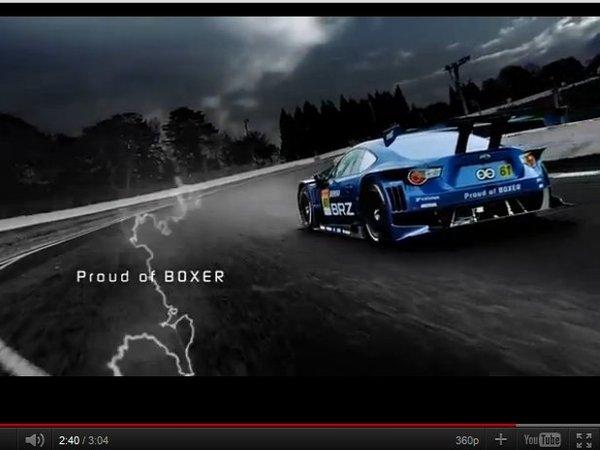 La Subaru BRZ GT300 se dévoile en vidéo