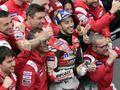 MotoGP - Valence J.3: Dovizioso remporte une finale bien arrosée.