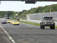 Insolite : un Mercedes G63 AMG 6x6 à l'attaque sur circuit ! [vidéo]