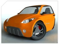 Brésil : Triciclo Pompéo, un 3 roues à l'éthanol inspiré du Concept Peugeot 20Cup