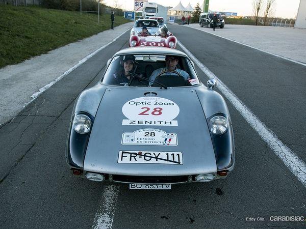 Photos du jour : Porsche 904 GTS (Tour Auto)