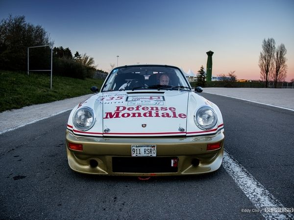 Photos du jour : Porsche 911 Carrera RSR 3L 1974 (Tour Auto)