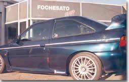 Ford Escort Cosworth Fochesato Sport :   une WRC en tenue de ville