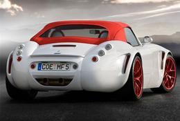 Francfort 2009 : la Wiesmann Roadster MF5 montre ses fesses