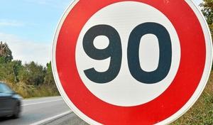 La Charente repasse à 90km/h