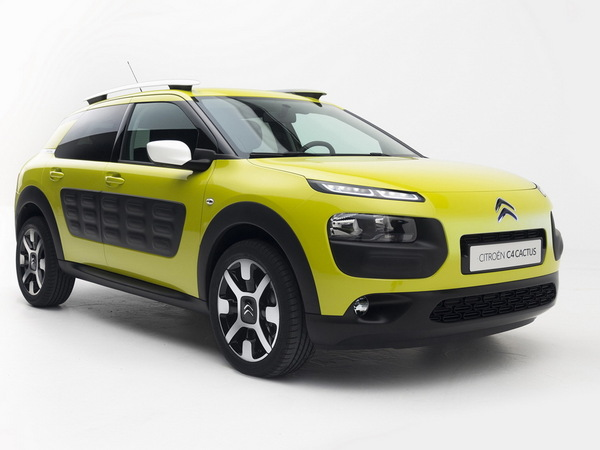 Citroën C4 Cactus: élue produit industriel de l'année par L'Usine nouvelle