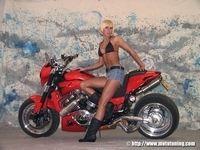 Yamaha V-Max «Shotgum» by Tecno Bike & Taylormade...