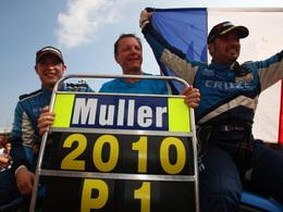 WTCC/Macao - Les titres pour Yvan Muller et Chevrolet