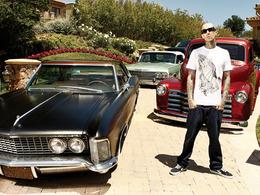Le garage de Travis Barker : tatouages et low-rider au programme