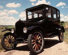 Réponse à la question du jour n° 8 : pourquoi a-t-on appelé la Ford T « La dame en noir » ?