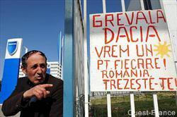 Grève chez Dacia : nouveau refus des syndicats